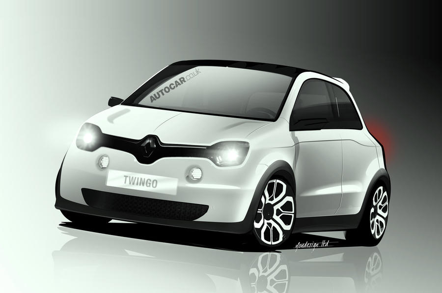 Renault Twingo 'reinvents small car'