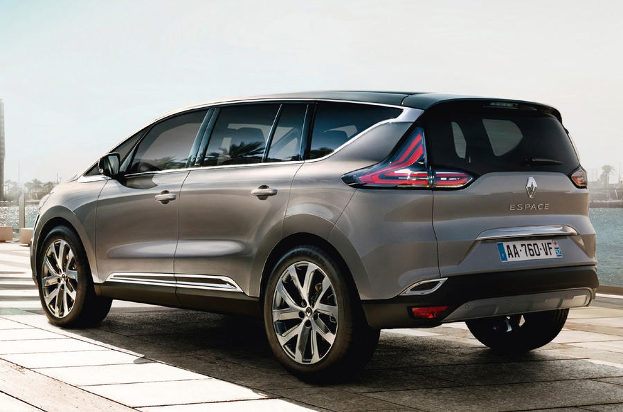 Renault reveals new Espace crossover