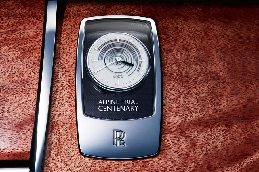 Shanghai motor show: Rolls-Royce Ghost Alpine Trial Centenary