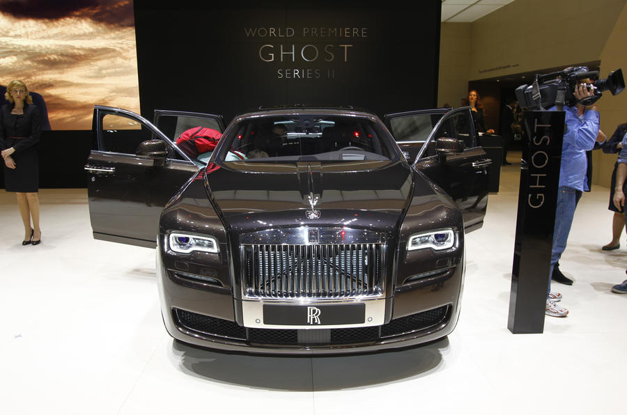 Rolls-Royce Ghost gets facelift