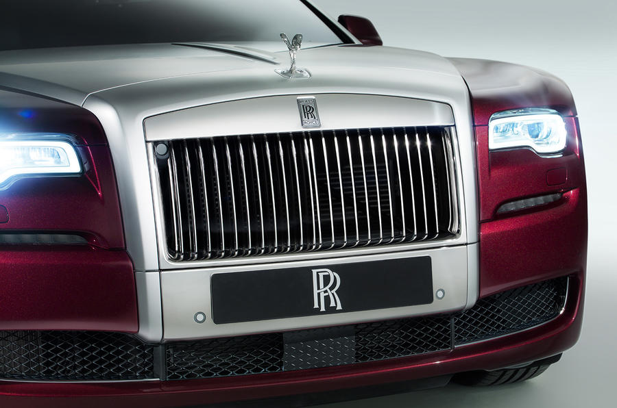 Rolls-Royce Ghost gets new facelift