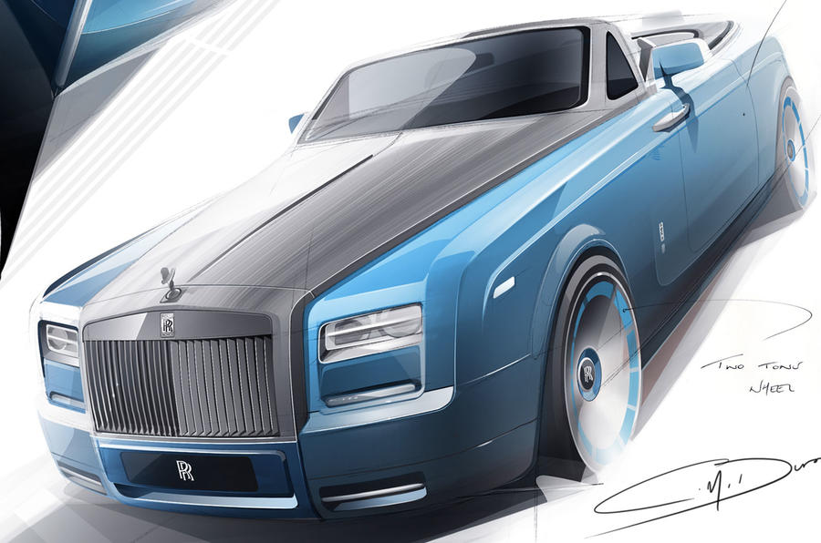 Rolls-Royce celebrates speed record with new Phantom