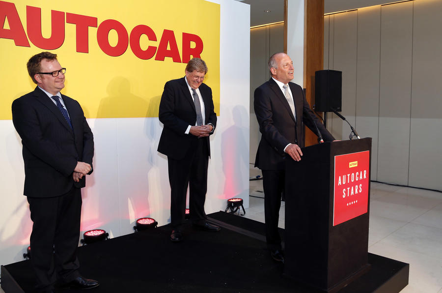 Honouring Ron Dennis and Tesla at Autocar's new awards bash