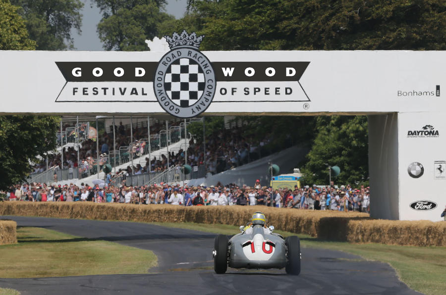 Watch the Goodwood Festival of Speed live with Autocar