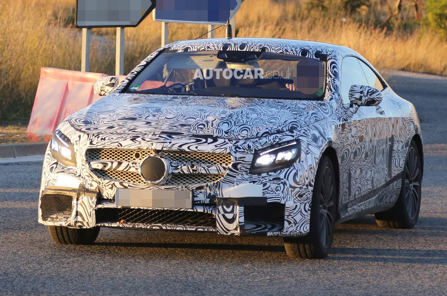 New Mercedes S63 AMG coupe spotted - latest pictures