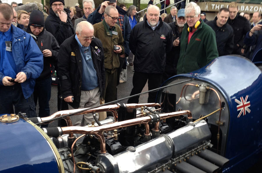 Land Speed Record winning Sunbeam runs again