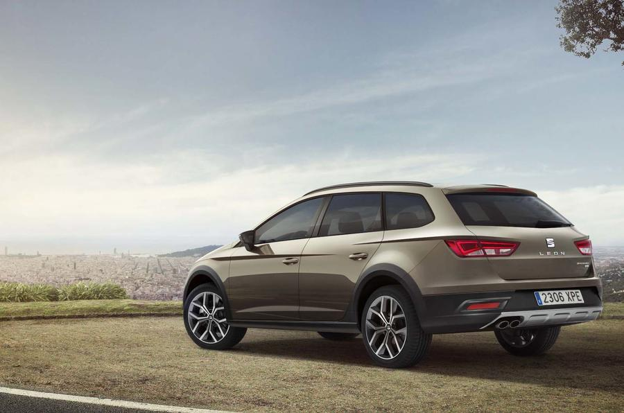 Seat reveals new Leon ST-based crossover
