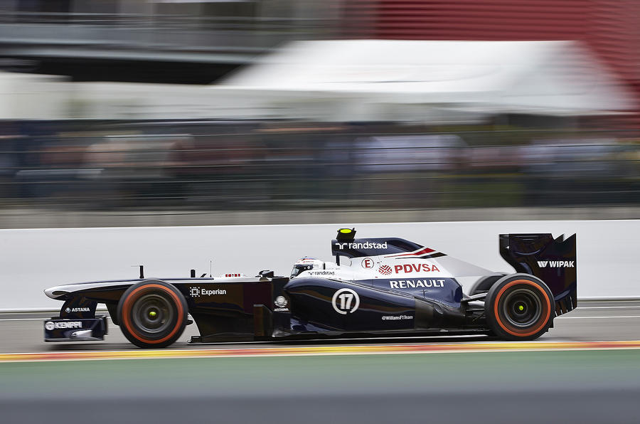 Some meanderings about Williams F1