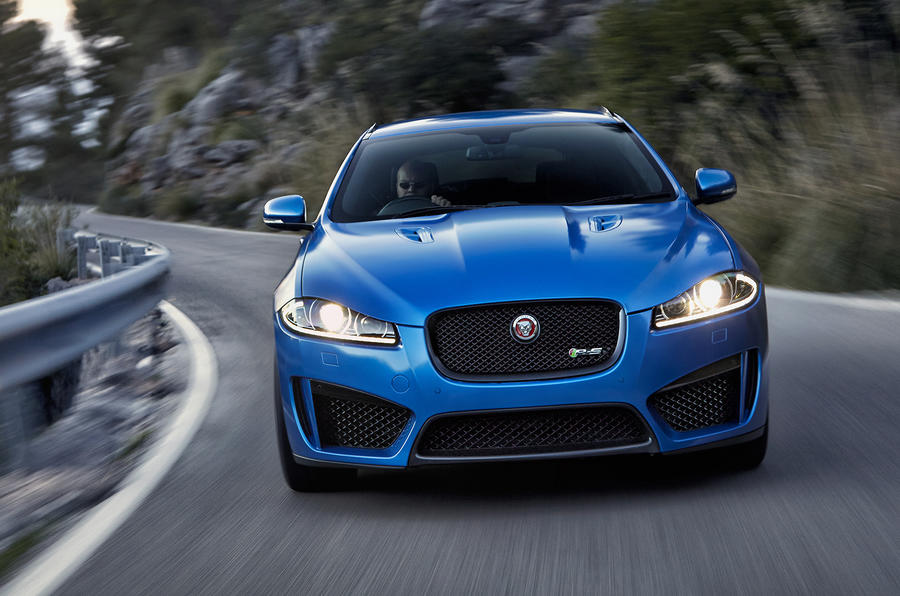 Jaguar XFR-S Sportbrake revealed with 542bhp
