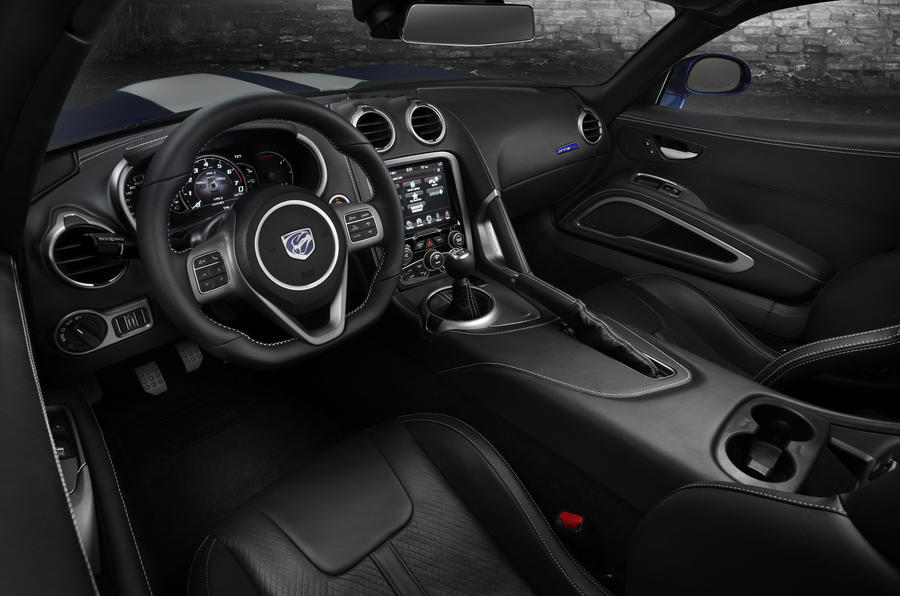 SRT Viper dashboard