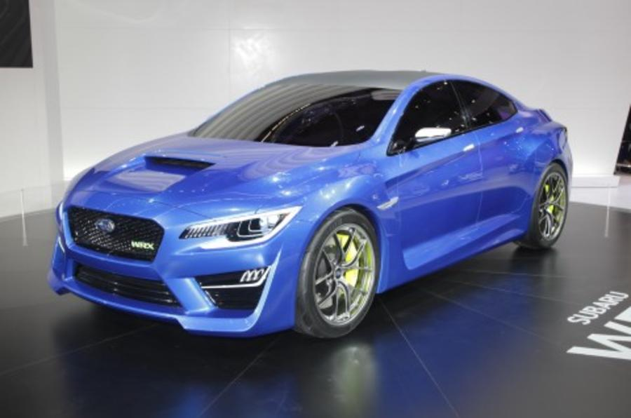 Subaru WRX to be seen at LA motor show in final production form