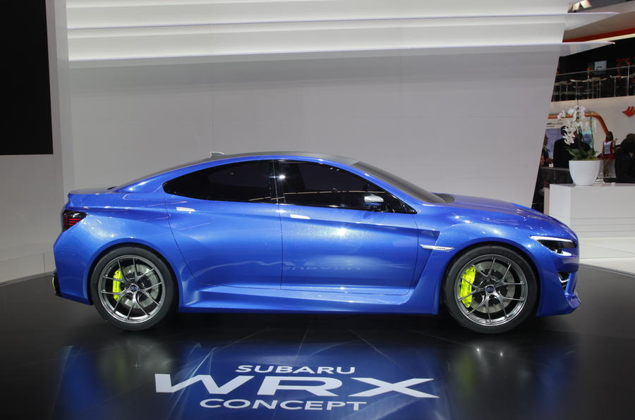 Frankfurt motor show 2013: Subaru WRX European debut