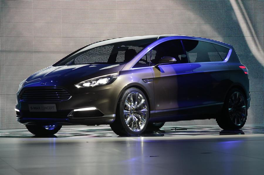 Ford S-Max Concept unveiled