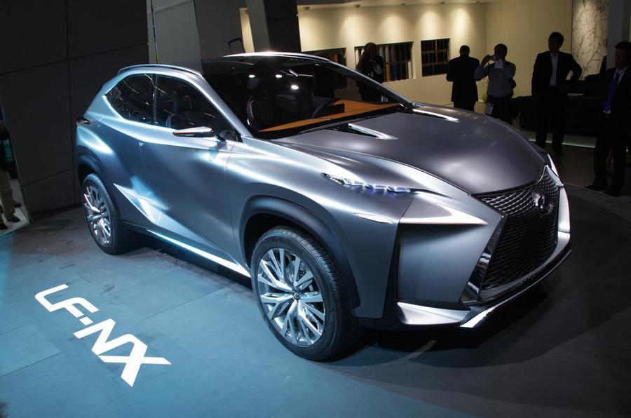 Lexus Lf Nx >> Frankfurt Motor Show 2013 Lexus Lf Nx Concept Autocar