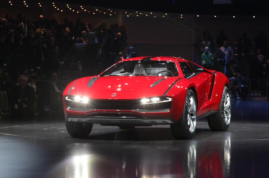 Geneva Motor Show 2013 Italdesign Giugiaro Parcour Autocar