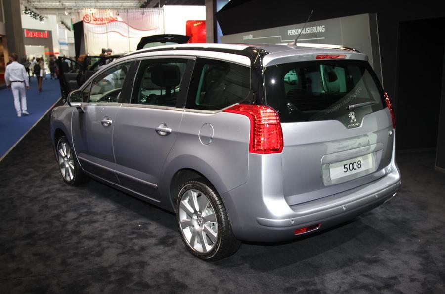 Frankfurt motor show 2013: Peugeot 5008 facelift
