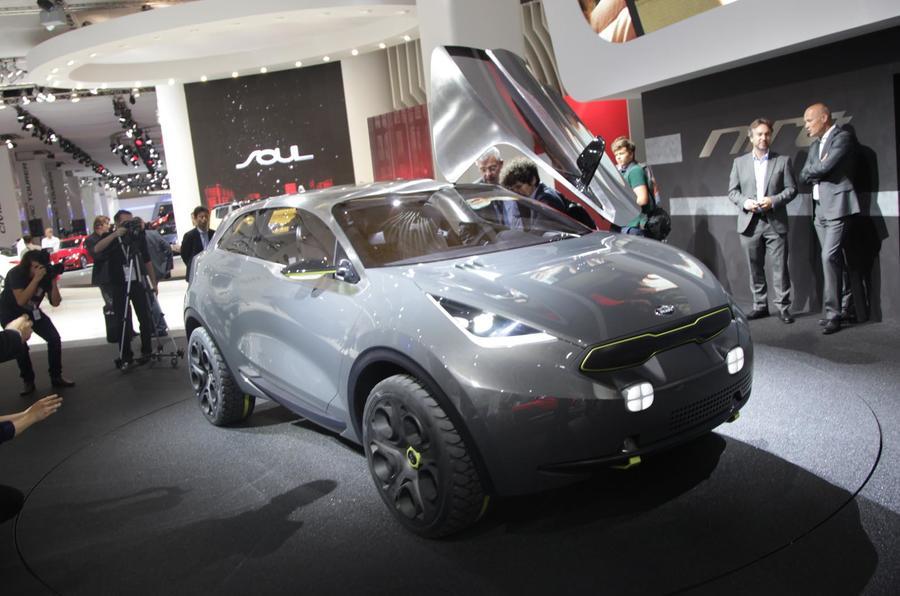 Kia Niro concept gets Frankfurt debut