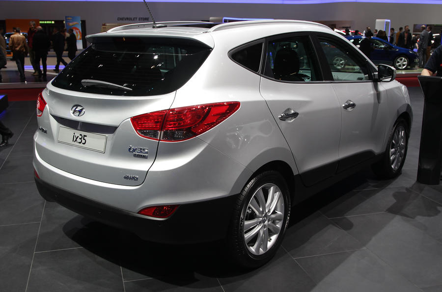geneva motor show 2013 hyundai ix35 facelift autocar. Black Bedroom Furniture Sets. Home Design Ideas