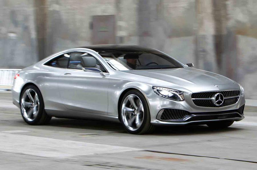 Mercedes CL replacement to be named S-class coupe