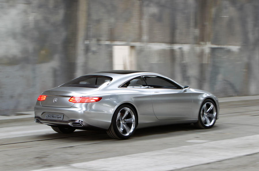 mercedes 39 s class coupe concept 39 very close 39 to production car autocar