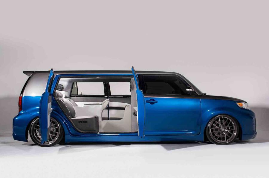 Scion brings modified FR-S to SEMA