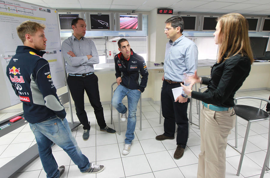 Sebastian Vettel helps Infiniti develop latest models