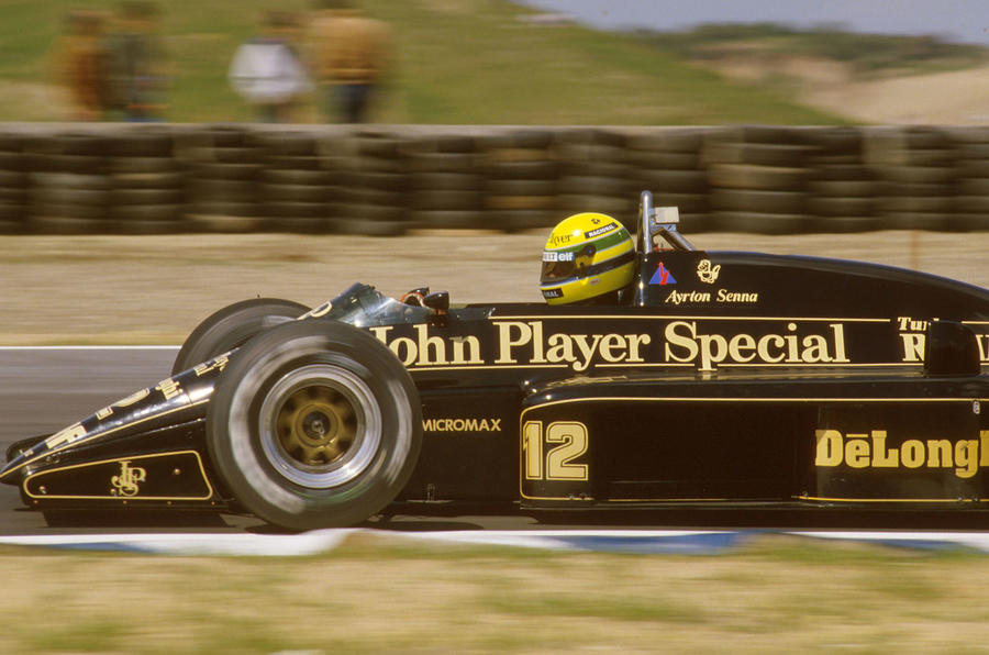Senna book reminds me of my favourite Formula 1 years