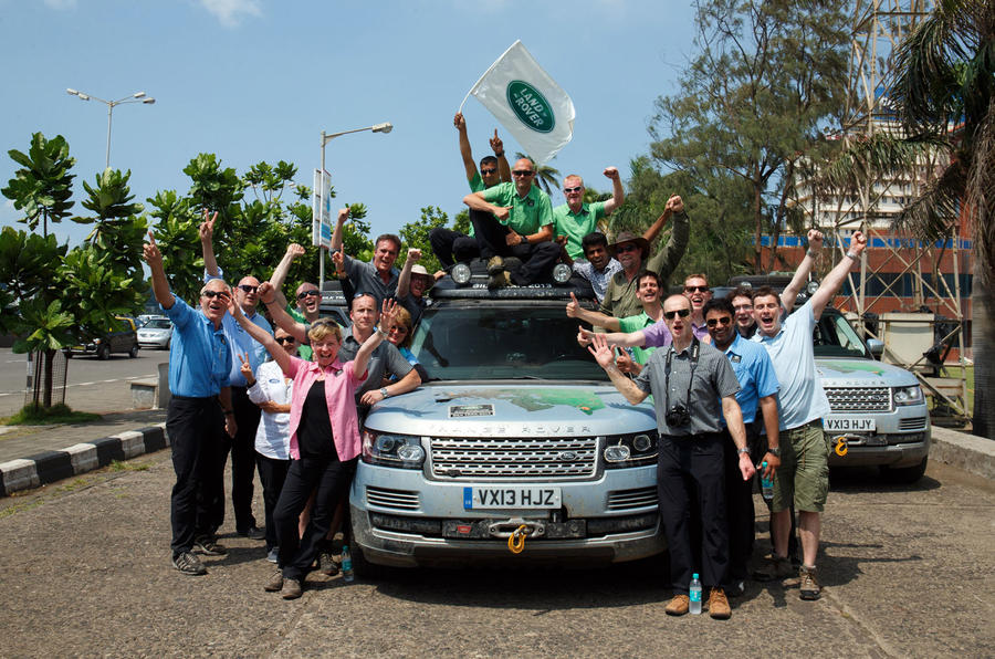 Range Rover Hybrids complete Silk Trail - picture special
