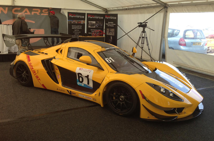 New road-going Sin R1 sports car on sale for £72,000