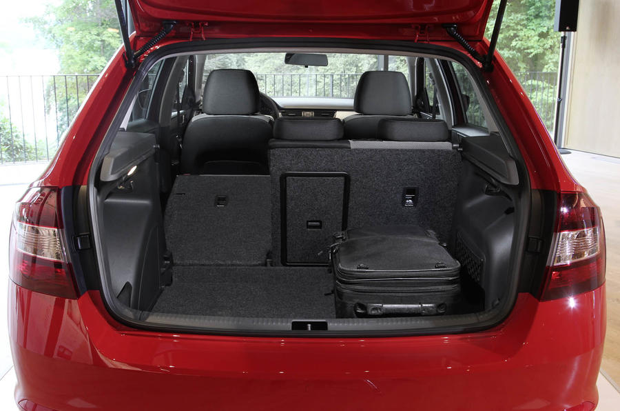 Skoda Rapid Spaceback boot space