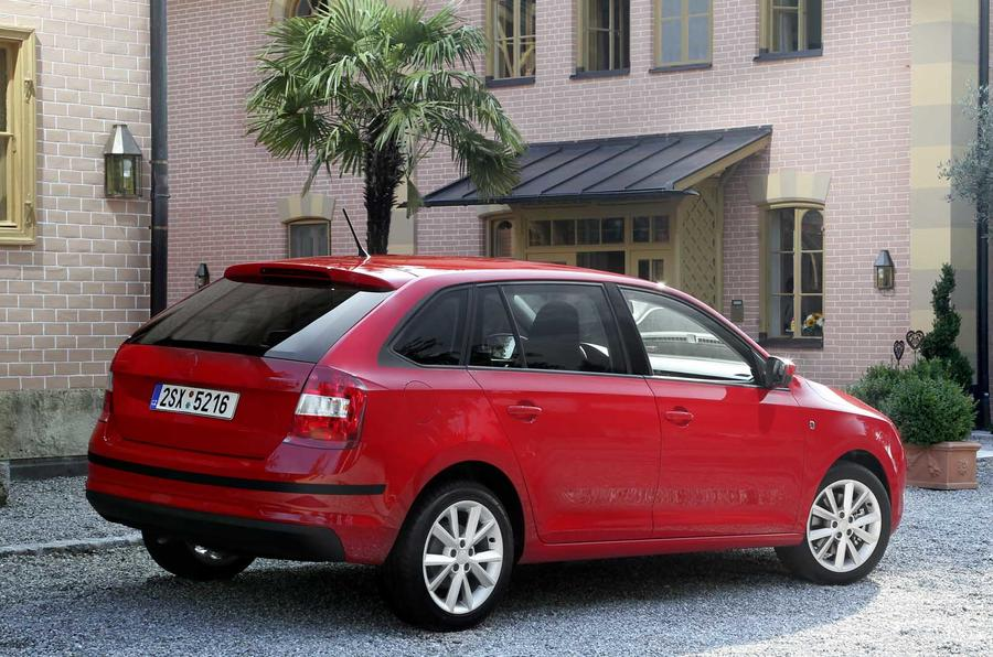 Skoda Rapid Spaceback rear end