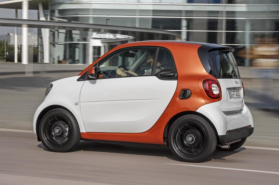 Smart Fortwo side profile