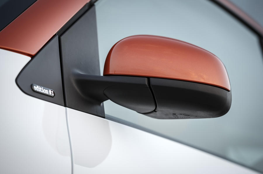 Smart Fortwo wing mirror