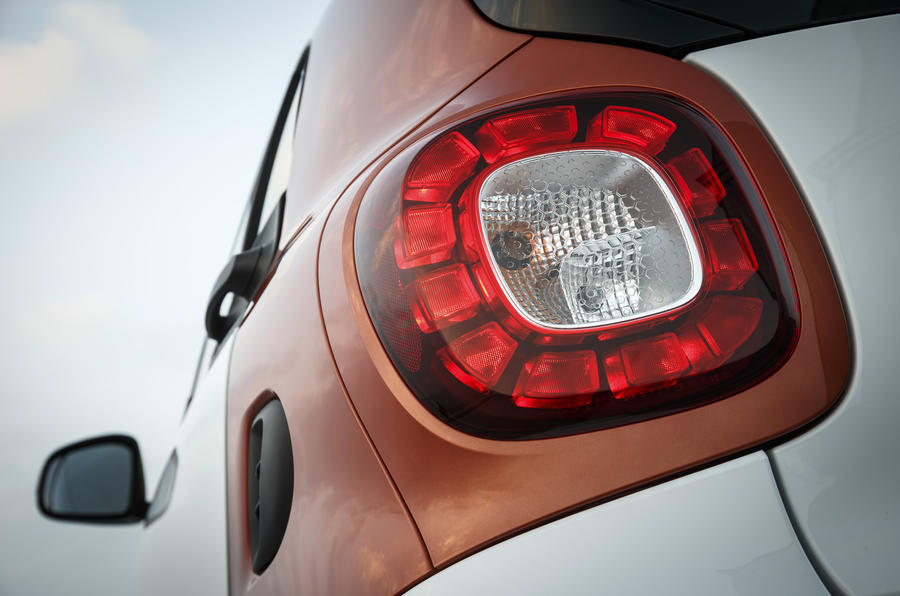 Smart Fortwo rear light