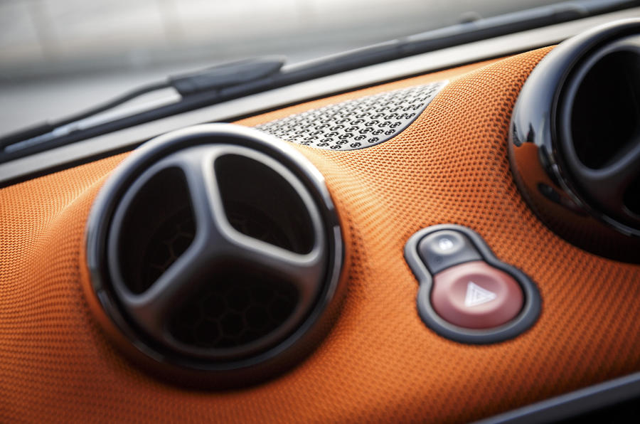 Smart Fortwo air vents