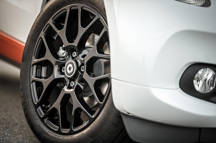 Smart Fortwo alloy wheels