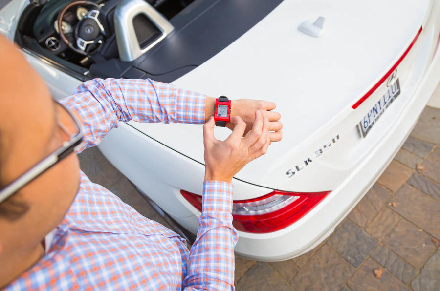Mercedes reveals a smart watch that can talk to your car