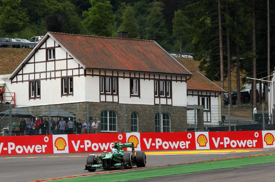 Belgian Grand Prix at Spa