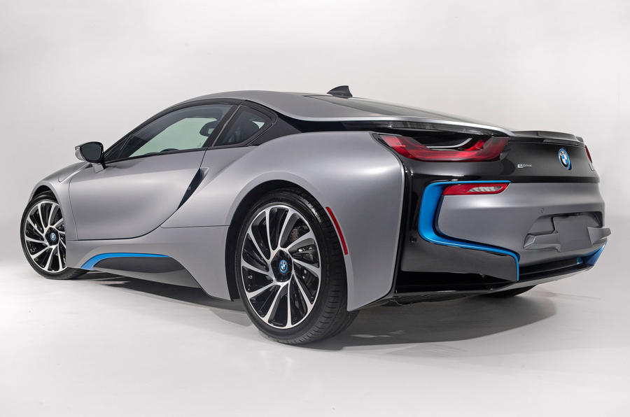 One-off BMW i8 sells for £493k at Pebble Beach auction