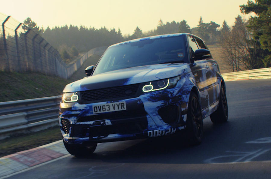 Range Rover Sport SVR takes Nürburgring record for SUVs