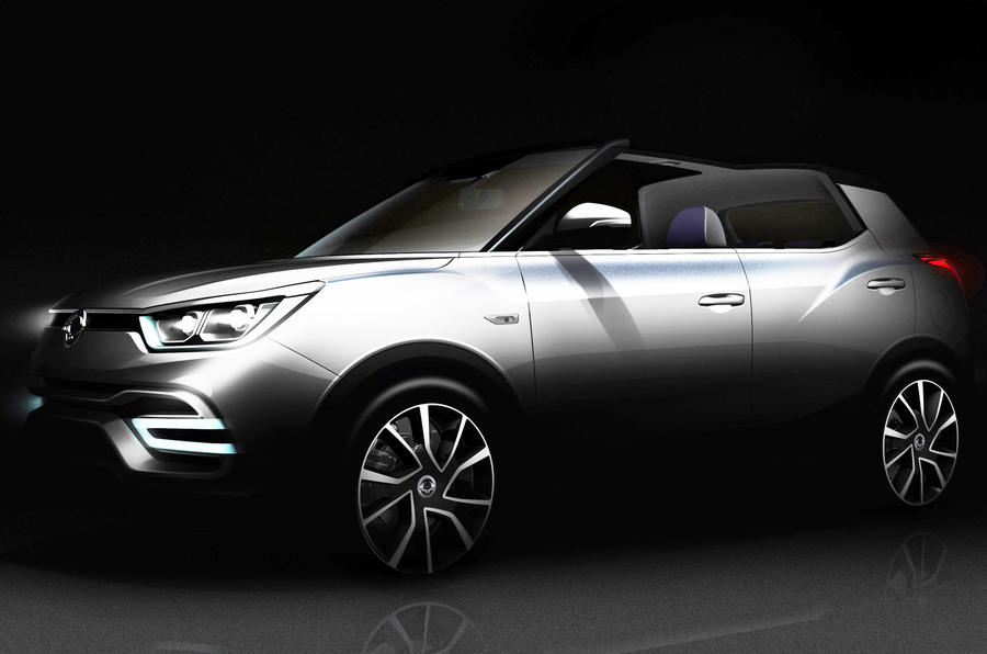 Ssangyong to preview new X100 SUV with Paris concepts