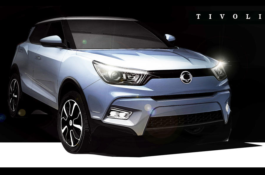 New SsangYong crossover to be called Tivoli