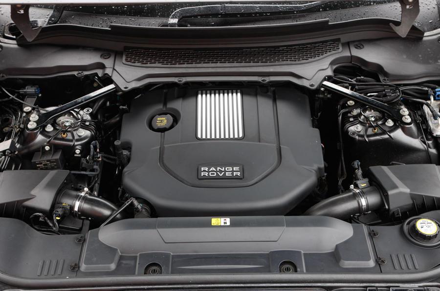 V6 diesel Range Rover Sport engine