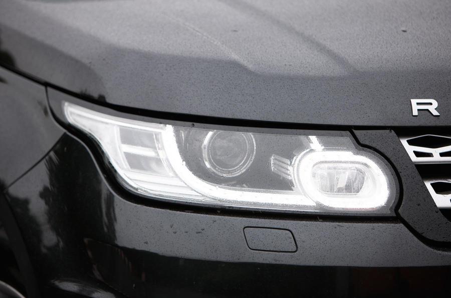 Range Rover Sport LED headlights