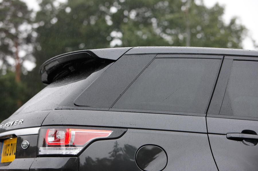 Range Rover Sport rear end