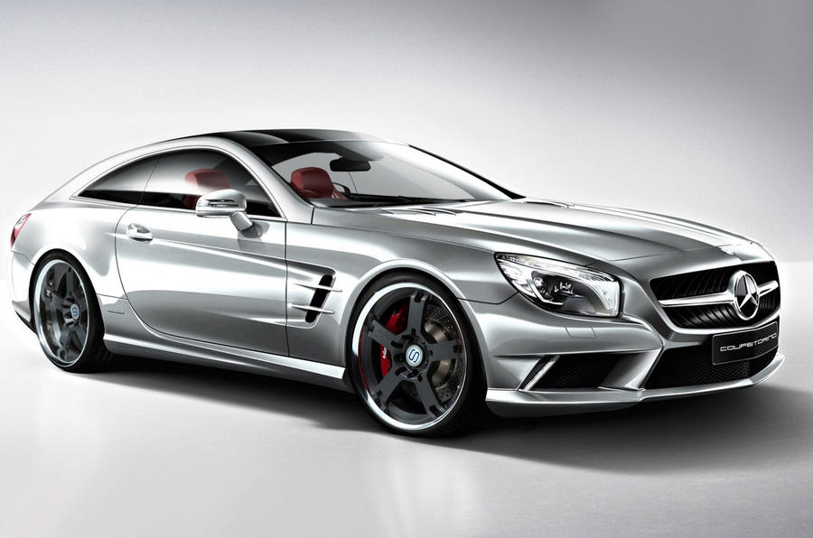 Studiotorino designs Mercedes SL shooting brake