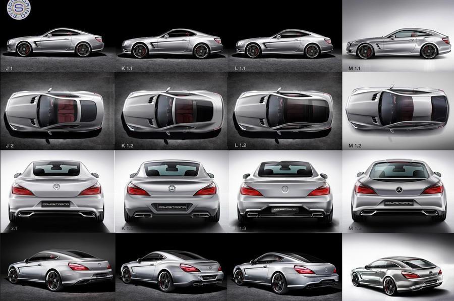 Studiotorino designs Mercedes SL shooting brake