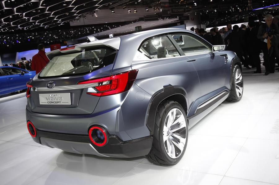 Subaru Viziv concept revealed at Geneva