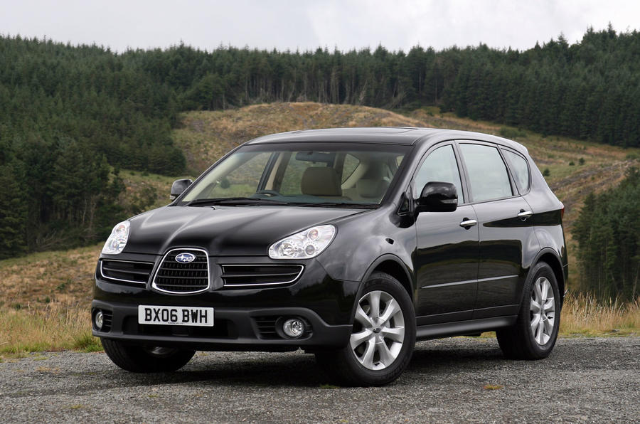 Subaru B9 Tribeca 3.0 S5 (2006-2014) first drive review