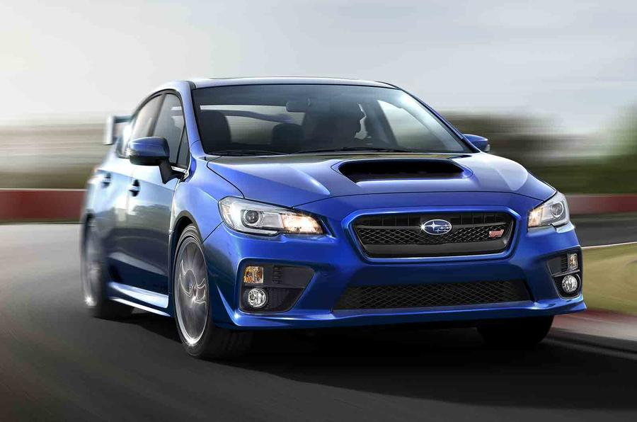 Subaru WRX STI for Detroit premiere